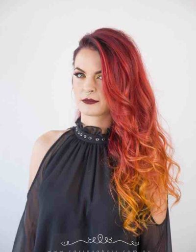 carinya-house-of-hair-&-beauty-colour-central-coast-salon-toukley-salon-de-lorenzo-stunning-colour-flamming-red-hair-fire-engine-red-sexy-red-hair-matchstick-red-la-bella-vita-photography