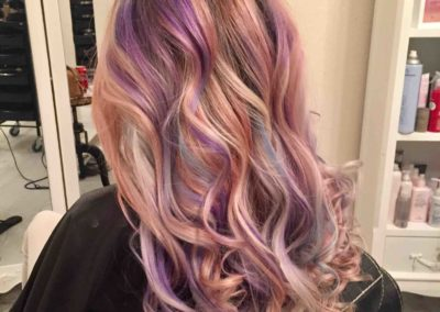 central-coast-salon-hair-salon-toukley-salon-carinya-house-of-hair-&-beauty-colour-photoshoot-de-lorenzo-colour-unicorn-hair-rainbow-hair-touch-up