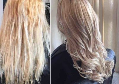 hair-before-after-hair-restyle-carinya-house-of-hair-&-beauty-colour-central-coast-salon-toukley-salon-de-lorenzo-nova-fusion-silver-rosewood-stunning-colour-cool-blonde-beautiful-blonde